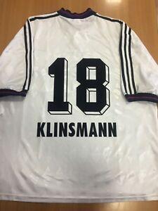 Klinsmann 18. Bayern Munich Away football shirt 1995 - 1996. XXL (2XL). Adidas