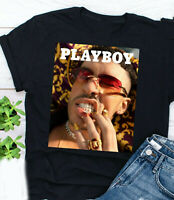 Rare Bad Bunny Play Boy Short Sleeve Black Men S-234XL T-Shirt PL416