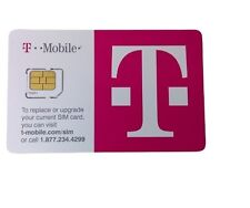 New T-Mobile Micro SIM Card 4G LTE Factory Unactivated Replacement ZZZ260R043