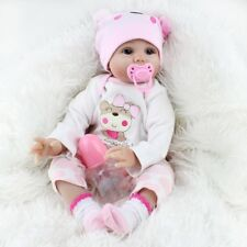 Reborn Dolls Real Baby Doll Realistic Silicone Vinyl Lifelike Gifts 16'' Dolls