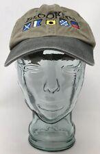 bb8d65ab Cameo Brooklin Boat Yard Sailing Baseball Cap Hat Cotton Beige OSFM Strap  Back