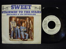 THE SWEET ' ESCALERA A LAS ESTRELLAS ( STAIRWAY  ) 7'' VG++ / N.MINT PROMO PRESS