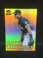 1995 Pacific Crown Collection Gold Prisms Frank Thomas #19 HOF MINT