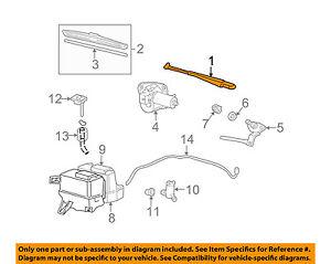 MAZDA OEM 02-07 B3000-Window Windshield Wiper Arm 1F7067321A