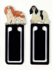 Hand Painted American Cocker Spaniel Dog Bookmarks (Set of 2) 962D-B