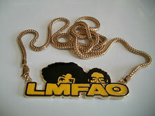 Black/Gold/Yellow finish Fashion Hip Hop Without Stones  pendant/40'' chain