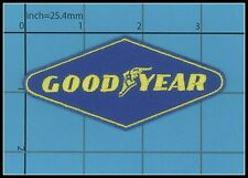 GOODYEAR iron on patch Racing Daytona INDY QUALITY Formula 1 F1 Uniform LOGO