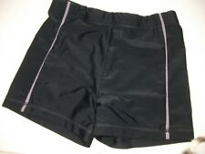 Boys Black Swimwear Boxer Trunks - Age 7-8 y/o
