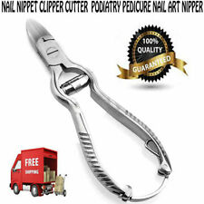 Manicure Nipper Clipper Scissors Pedicure Tool Stainless Steel Toe Nail Cutter