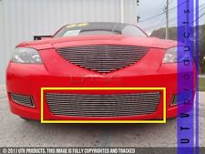 GTG 2007 - 2009 Mazda 3 Sedan 1PC Polished Replacement Bumper Billet Grille