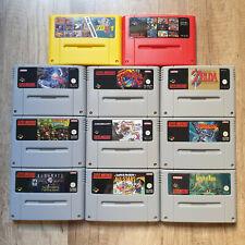 SNES Spiele Zelda Terranigma Chrono Trigger Super Metroid Mario DK PAL Version