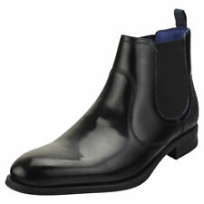 Ted Baker Trallic Mens Black Leather Chelsea Boots