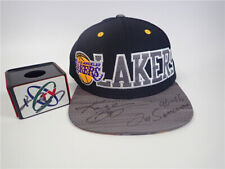 The NBA Los Angeles lakers Kobe Bryant Autographed hat to commemorate retirement