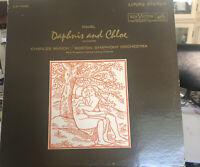 Ravel Daphnis & Chloe Vinyl LP Charles Munch RCA Living Stereo LSC-2568