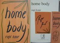 Signed Bookplate in Book Home Body by Rupi Kaur Paperback 1st Edition 2020
