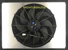 """NEW ALUMINUM RADIATOR FAN SHROUD W/ 16"""" FAN 63 64 65 66 CHEVY TRUCK PICKUP C10"""