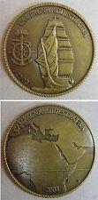 Moneta/Coin Nave Scuola AMERIGO VESPUCCI - Campagna Addestrativa 2003 - (Rarità)