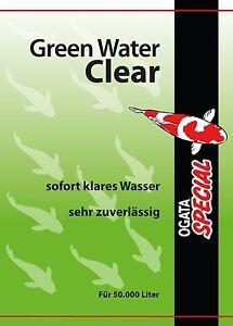 Ogata Special Green Water Clear 1.000 ml gegen Schwebealgen Algenvernichter