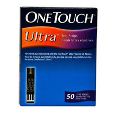 ONE TOUCH ULTRA BLOOD GLUCOSE 50 TEST STRIPS WITH LONG EXPIRY ( SEPTEMBER 2020)