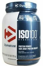 Dymatize Nutrition ISO 100 | 23 Servings | Chocolate Coconut | Ready-To-Ship!