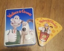 Wallace & Gromit  Biscuit And Cheese Tins