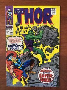 Thor #142 (1967) VF 8.0 Super-Skrull!! 🔥HIGH GRADE🔥