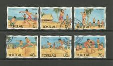 Tokelau 1987 Olympic Sports used set, SG148-153