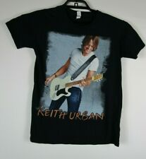 Keith Urban Womens Small 2011 World Tour Graphic T Shirt Black