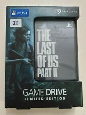 The Last Of Us Part II 2 Limited Edition Seagate Game Drive For PS4 - NEW