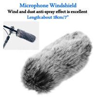 Pelziges Fell Windschutzscheibe Wind  für SONY ECM-GZ1M Outdoor Wind Muff   9 +F