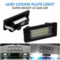 Luz de Matricula 24 LED 12V para AUDI A4 S4 B8 A5 S5 TT Q5 VW PASSAT 8T0943021