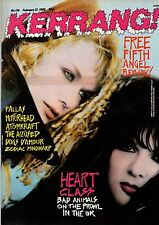 Nancy & Ann Wilson of Heart on Kerrang Cover 1988    Motorhead   Zodiac Mindwarp