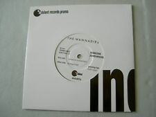"THE WANNADIES Someone Somewhere/Disappointed promo 7"" vinyl single"