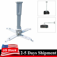 Universal Bracket Ceiling Wall Mount Stand 44lbs Load for Projector Home Theater