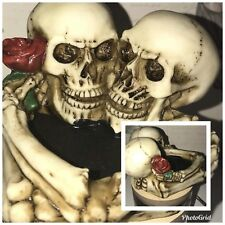 Latex Moulds for making this unusual skull ashtray