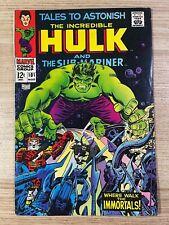 Tales to Astonish #101 (Marvel Comics) Hulk and Sub-Mariner appearance