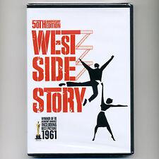 West Side Story, new DVD 1961 musical Bernstein, Natalie Wood, 10 Academy Awards