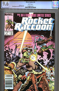 Marvel Rocket Raccoon Comic #1 CGC 9.6 1st Solo Limited Series  NM+ WP