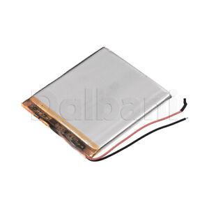 375666P, Internal Lithium Polymer Battery 3.7V 2000mAh 37x56x66mm