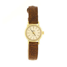 Ladies Omega DeVille Gold Tone 25 Jewel Automatic Wristwatch