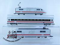 ZG99 H0 =DC :::: ROCO 51130 COMPOSICION DE 2 LOCOMOTORA SERIE 405 + VAGON ICE DB
