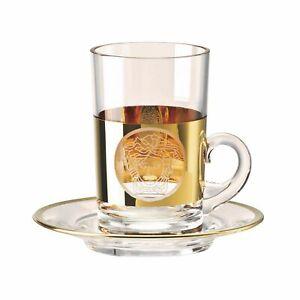 Versace Medusa Madness Oro Tea glass 2 pcs tall