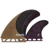 Futures Fins Rasta Twin Fin +1 Set Surfboard Fins