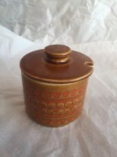 "Hornsea Saffron - Covered Sugar Preserve Jam Pot 3.5"" - Used VGC"