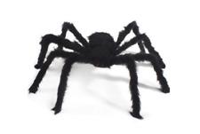 75cm Viuda Araña falso negro gigante web Decoración casa embrujada Accesorios Juguete Truco Reino Unido