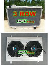 Aluminum Radiator + shroud +fan TOYOTA Landcruiser HDJ80 HZJ80 HDJ 80 Manual