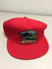 Trucker Cap Cool Hat Industrial Black Dog Farms red