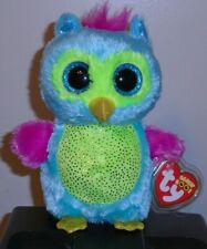 Ty Beanie Boos ~ OPAL the Owl (Justice Exclusive)(6 Inch) NEW MWMT