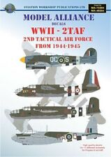 Modello ALLEANZA Decalcomanie 1/48 SECONDA GUERRA MONDIALE 2nd Tactical Air Force 1944-45 # 48204