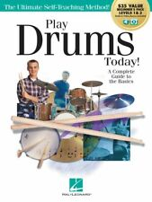 Play Drums Today All-in-One Beginner's Pack Includes Book 1 Book 2 000293923